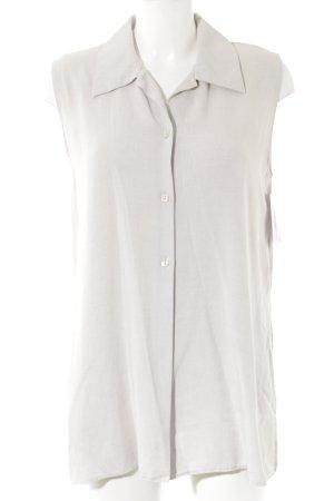 Orsay Shirt met korte mouwen lichtgrijs Parelmoer knoppen