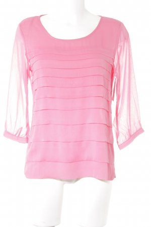 Orsay Langarm-Bluse rosa Casual-Look