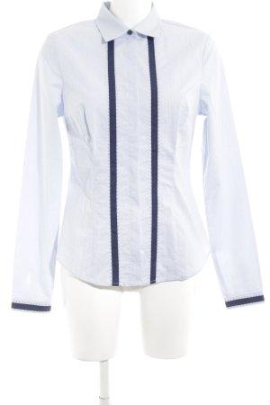 Orsay Langarmhemd blau Streifenmuster Business-Look