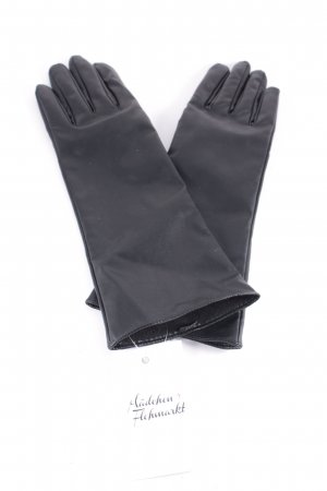 Orsay Faux Leather Gloves black simple style