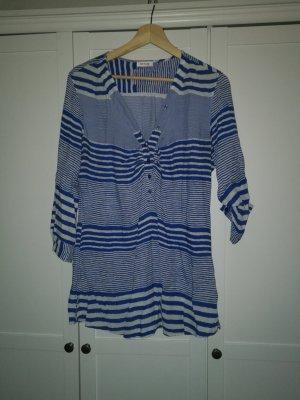 orsay longbluse  gestreift Blau weiß