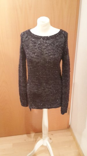 Orsay Sweater Dress black-dark blue