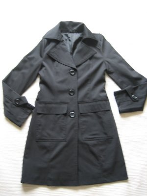 orsay mantel klassiker elegant schwarz gr. s 36 neu