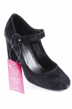 Orsay Mary Jane Pumps schwarz Business-Look