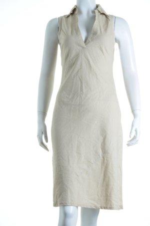 Orsay Midikleid beige minimalistischer Stil
