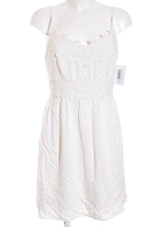 Orsay Minikleid weiß Romantik-Look