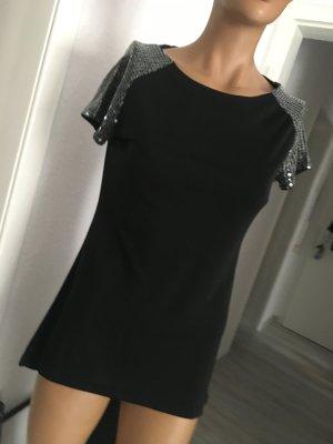 Orsay Oberteil schwarz mit Pailletten/ neu