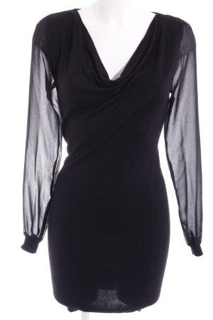 Orsay Pulloverkleid schwarz schlichter Stil