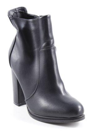 Orsay Reißverschluss-Stiefeletten schwarz Casual-Look