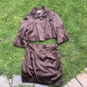 Orsay Traje para mujer marrón-marrón oscuro