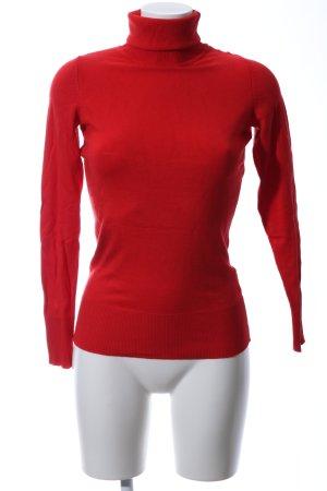 Orsay Maglione dolcevita rosso stile casual