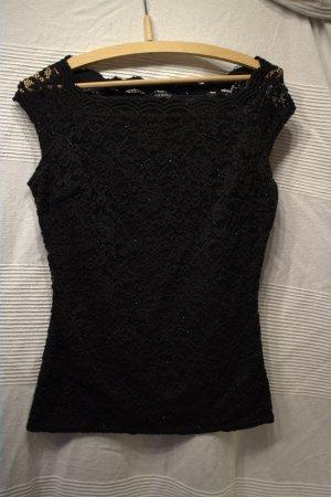 Orsay Camisa de un solo hombro negro