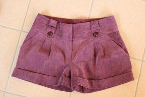 Orsay Shorts, Cord Shorts, lila