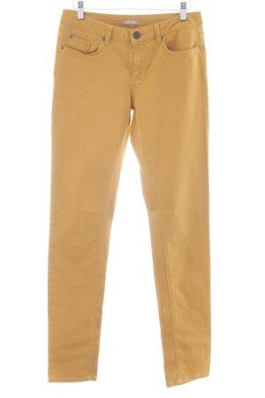 Orsay Skinny Jeans dunkelgelb Casual-Look