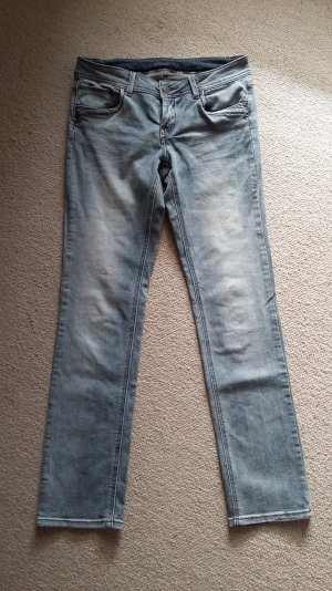 Orsay, slim Jeans, neu, grau-hellblau, Größe 36