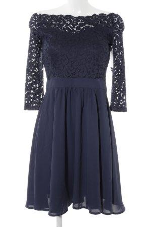 Orsay Kanten jurk donkerblauw casual uitstraling