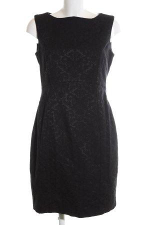 Orsay Spitzenkleid schwarz Blumenmuster Business-Look
