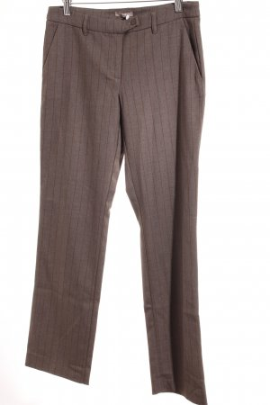 Orsay Stoffhose taupe-braun Nadelstreifen Casual-Look