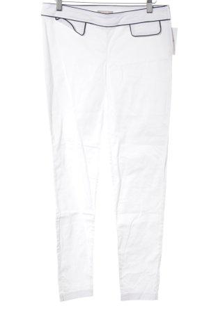 Orsay Stoffhose weiß-schwarz Casual-Look