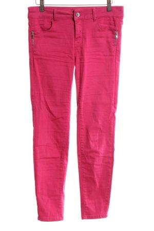 Orsay Pantalón elástico rosa look casual