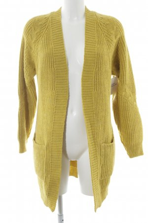 Orsay Strickjacke limettengelb Casual-Look