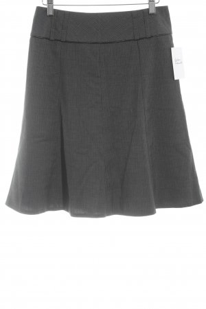 Orsay Circle Skirt grey-light grey pinstripe casual look