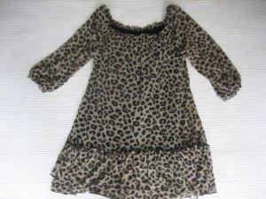orsay tunika animalprint leoprint gr. s