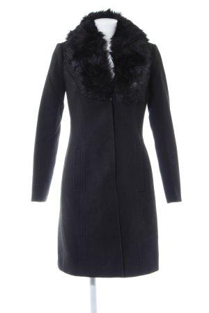 Orsay Wintermantel schwarz Casual-Look