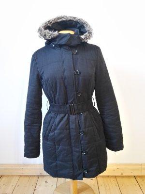 Orsay Hooded Coat black polyester