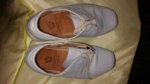 Sneakers met veters lichtgrijs-zilver