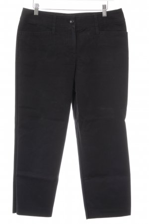 Orwell Pantalon 7/8 noir style décontracté