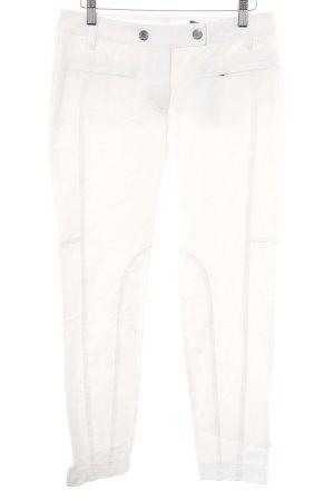 Orwell Pantalon 7/8 blanc cassé style décontracté