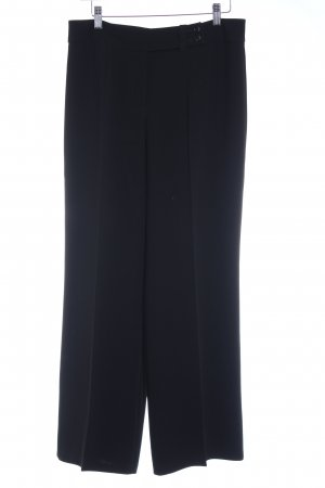 Orwell Suit Trouser black-anthracite pinstripe casual look