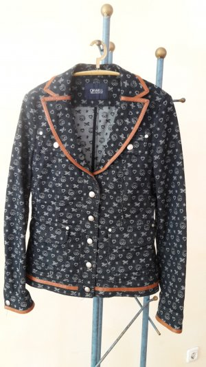 Orwell Blazer en jean multicolore coton
