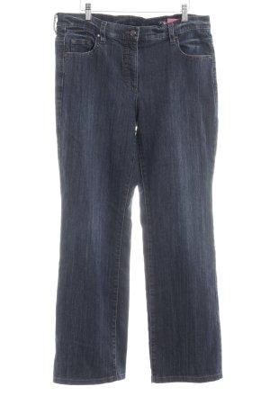 Orwell Jeans bootcut bleu foncé style décontracté