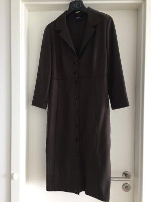 Orwell Wool Coat dark brown