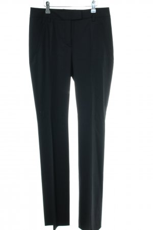 Orwell Bundfaltenhose schwarz Business-Look