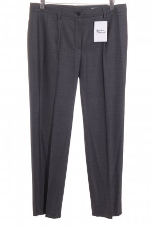 Orwell Bundfaltenhose grau meliert Business-Look
