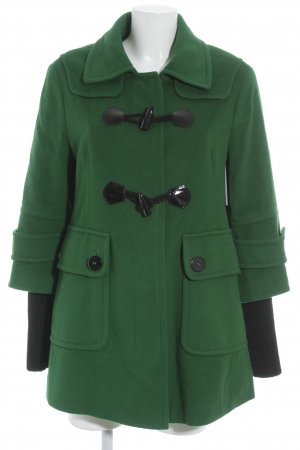 Orwell Duffel Coat forest green casual look