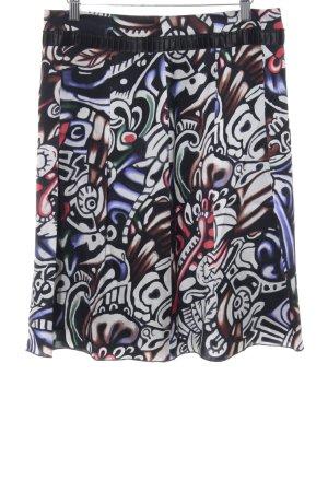 Orwell Glockenrock schwarz-weiß abstraktes Muster Casual-Look