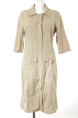 Orwell Hemdblusenkleid beige Nude-Look