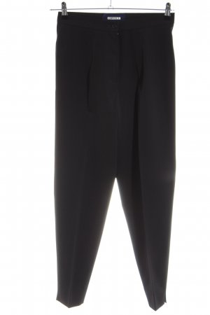 Orwell High Waist Trousers black business style
