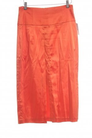 Orwell High Waist Rock neonorange Business-Look