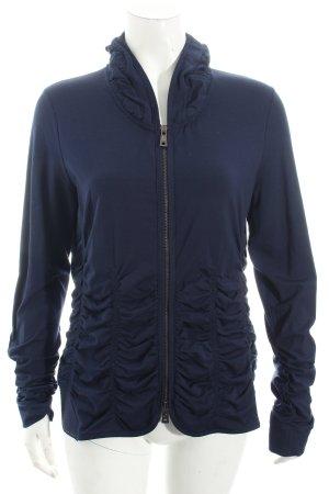 Orwell Jacke dunkelblau Street-Fashion-Look