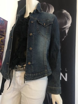 Orwell Jeansjacke wie neu Closed Jeans Liebeskind Gürtel Designer Bluse Small