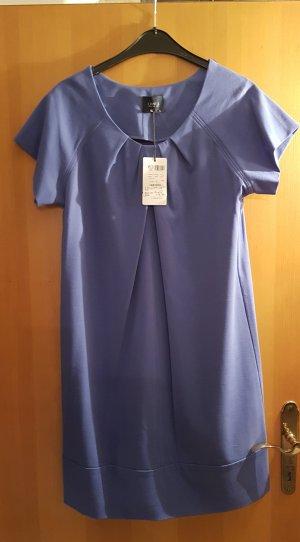 Orwell # Kleid aus festem Jersey Stoff # D 38/D40# blauvioletter Farbton