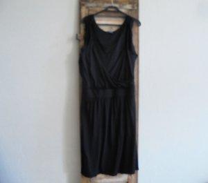 ORWELL Kleid schwarz knielang Lagenlook Gr.M