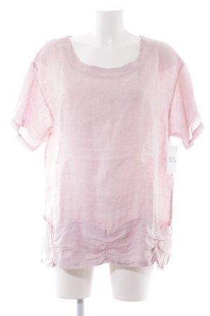 Orwell Kurzarm-Bluse rosé Casual-Look