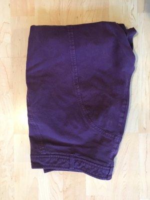Orwell Pantalón elástico violeta azulado tejido mezclado