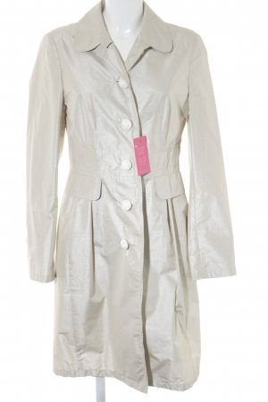 Orwell Heavy Raincoat silver-colored-light grey casual look